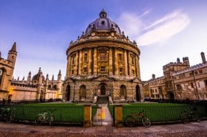 First Visit to Oxford 7